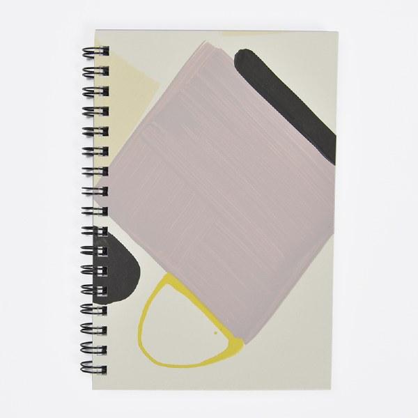 Moglea Painted Notebook - Purple Rain 3