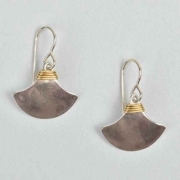 Marjorie Baer E0184 - Brass/Silver