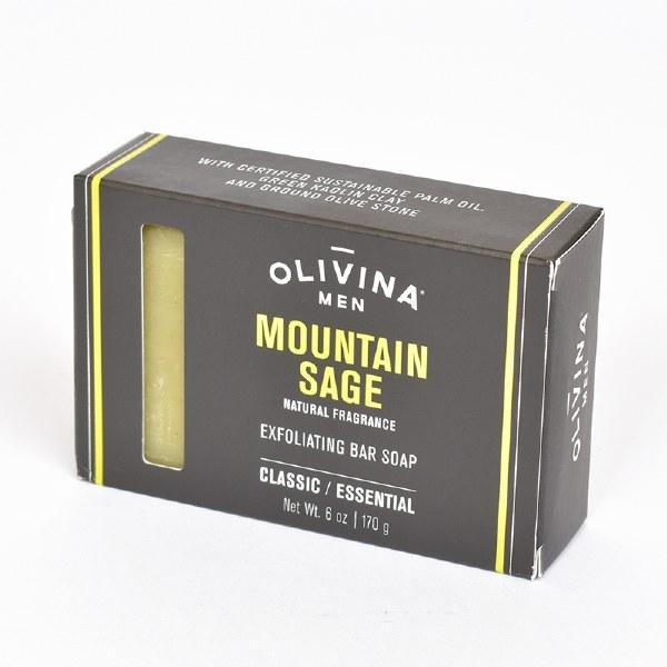 Olivina ML512 Soap Bar - Mountain Sage
