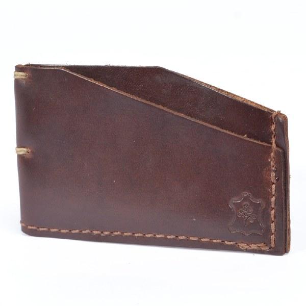 Orox Leather Slim Cardholder - Brown