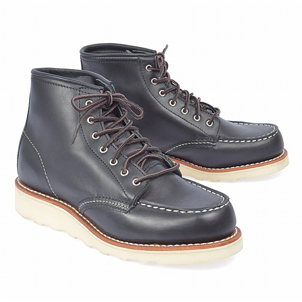 "Red Wing 3373 W 6"" Moc - Black"