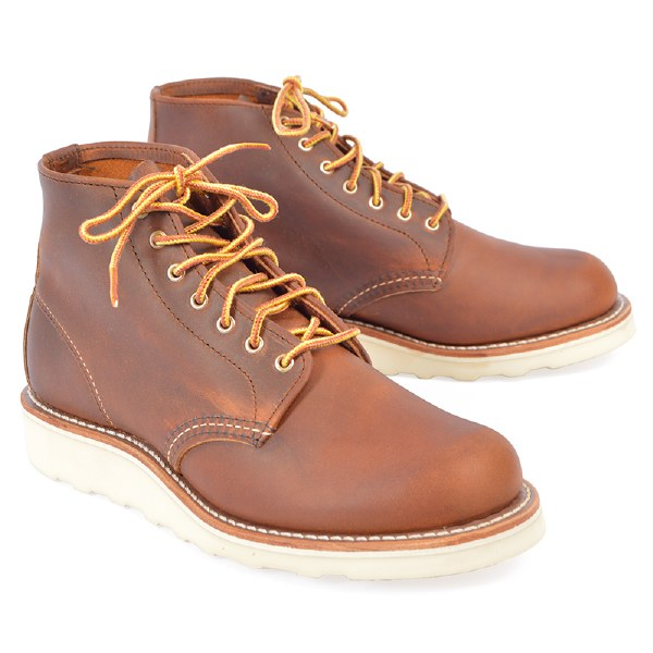 """Red Wing 3451 6"""" Round Toe - Copper"""