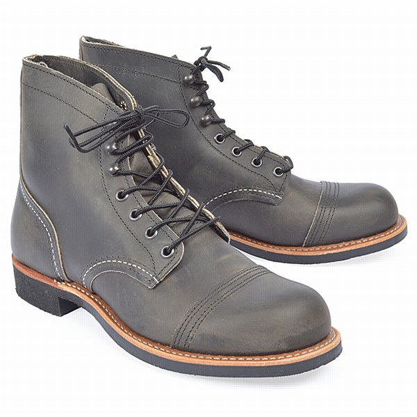 Red Wing 8086 Iron Ranger - Charcoal