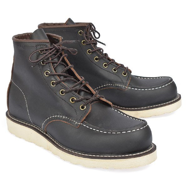 """Red Wing 8849 6"""" Classic Moc - Black Prarie"""
