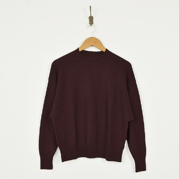 Toad & Co  Lily Mock Sweater - Mahogany