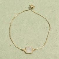 Athena Druzy Bracelet - White