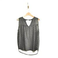 Dylan Kayah Sleeveless Shirt - Vintage Black