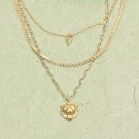 Farrah B Carol Necklace - Gold
