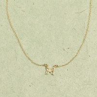 Katie Dean Butterfly Necklace - Gold