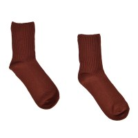 Look by M Ribbed Sock - Maroon
