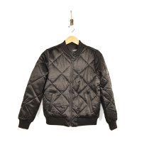 Quilted Bomber Jacket /LIV