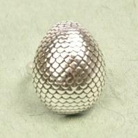 Ori Tao Dragon Oval Ring - Silver