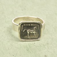 Horse Ring   - Silver