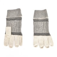 Smartwool Popcorn Cable Glove - Natural Donegal