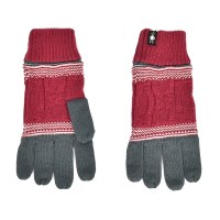 Smartwool Popcorn Cable Glove - Prussian Blue