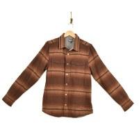 Toad & Co Mojac Dos Shirt Jac - Chestnut Stripe