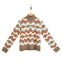 Toad & Co Wilde Zip Sweater - Brown Sugar