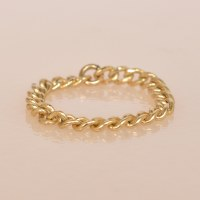 Able Chain Ring - Gold