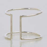 Able Cuff Ring - Silver