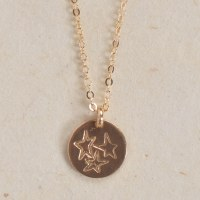 Able Tri-Star Tag - Gold