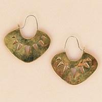 Arcos Anaka Earrings - Brass