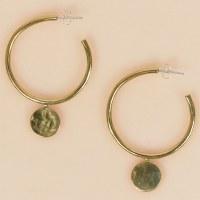 Arcos Aurea Hoops - Brass
