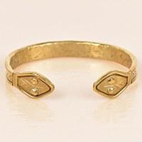 Arcos Colubra Cuff - Brass
