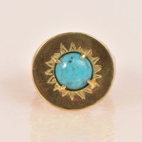 Arcos Noria Ring  - Turquoise