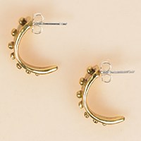 Arcos Shamal Earrings  - Brass