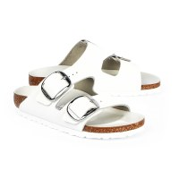 Birkenstock Arizona Big Buckle - White