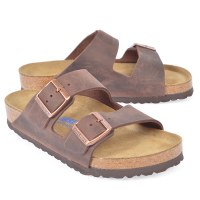 Birkenstock Arizona Leather  - Habana