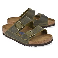 Birkenstock Arizona Leather  - Jade