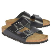 Birkenstock Arizona Leather - Amalfi Black