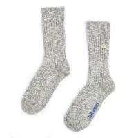 Birkenstock Cotton Slub Sock - Grey