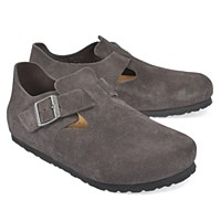 Birkenstock London Suede - Gunmetal