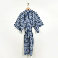 Bloom And Give Iris Kimono - Dark Blue