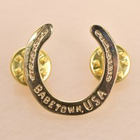 Chaparral Studio Horseshoe Pin - Brass