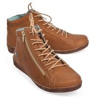 Cloud Footwear Aika Boot - Tan Distress