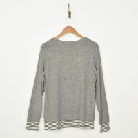 COA Crew Neck Sweater - Heather Grey