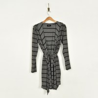 COA Long Cardigan With Hood - Grey/Black