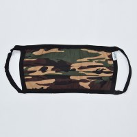 Coal Reversible Face Mask - Camo/Orange