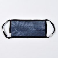 Coal Tie Die Face Mask - Navy