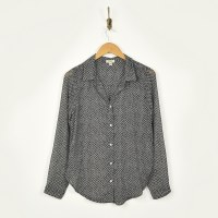 Dylan Recycled Stars Blouse - Black