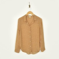Dylan Recycled Stars Blouse - Golden
