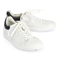 Ecco Soft 7 Street Sneaker - White Black