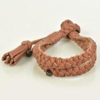 Embrazio Lazo Turco Bracelet  - Tobacco