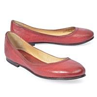 Frye Carson Ballet - Burnt Red