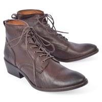 Frye Carson Lace Up - Dark Brown