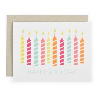 Graphic Anthology B Candles - Neutral