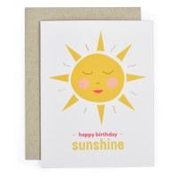 Graphic Anthology Birthday Sun - Neutral